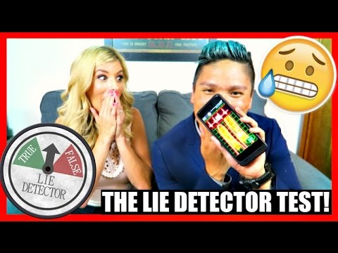 THE LIE DETECTOR TEST! w/ Rebecca Zamolo