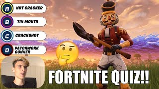 GUESS FORTNITE GRADE QUIZ 🔥😱 (90% IS WRONG!!)
