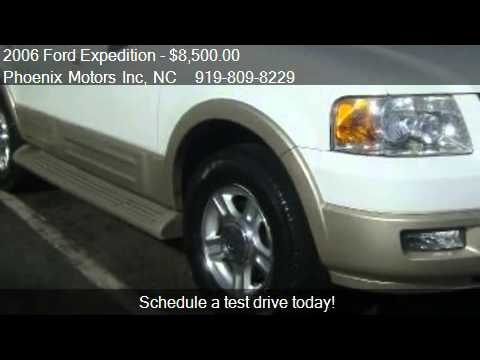 2006 Ford Expedition Eddie Bauer 2wd For Sale In Raleigh