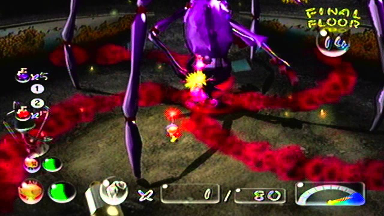 Pikmin 2 Wii Day 26 8 8 Dream Den Final Boss Youtube