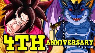 NEW JP 4 YEAR ANNIVERSARY Data Download Details! Dragon Ball Z Dokkan Battle