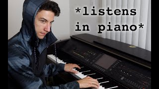 Why you can't tell pianists anything