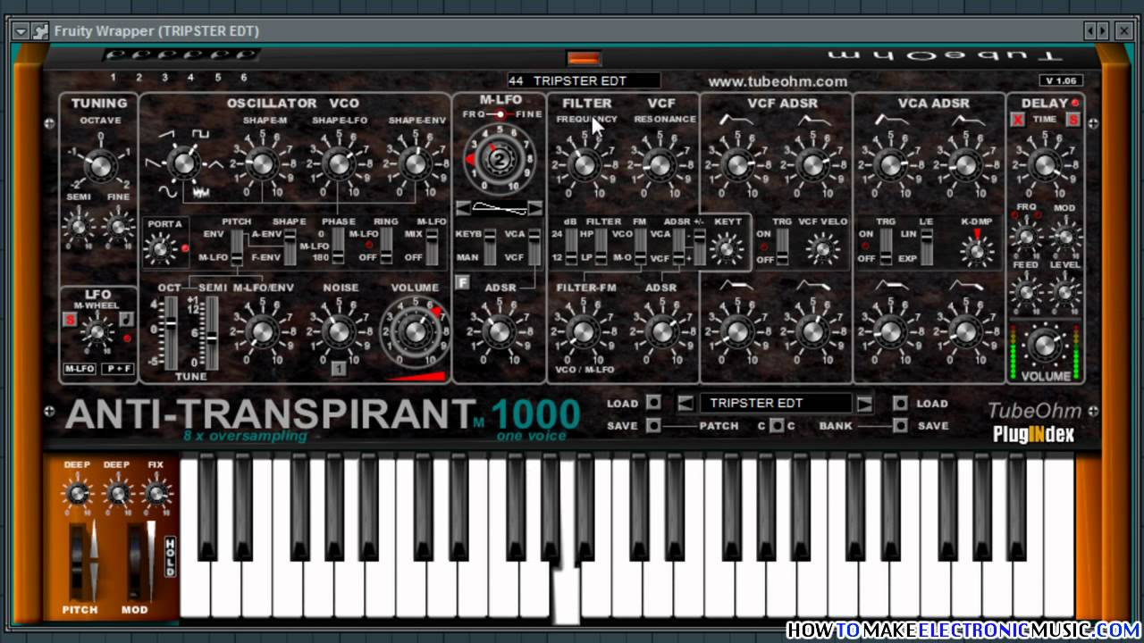 Anti-Transpirant | Free VST Synth