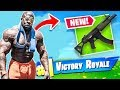 *NEW GUN* // Fortnite Battle Royale |  Kali Muscle
