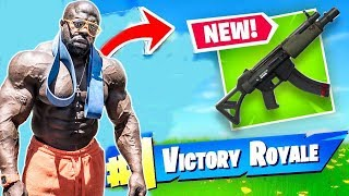 *NEW GUN* // Fortnite Battle Royale |  Kali Muscle