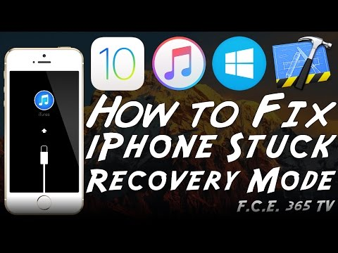 How to Fix iPhone Stuck in Recovery Mode Loop Using iRecovery (Without Restoring)