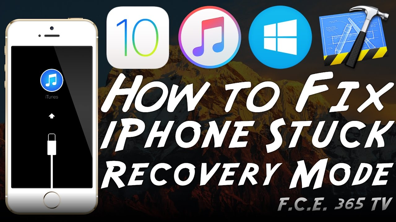 why is my iphone frozen how to fix iphone stuck in recovery mode loop using 18252