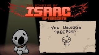 The Binding Of Isaac: Afterbirth - Keeper - (Greed Mode) Gameplay