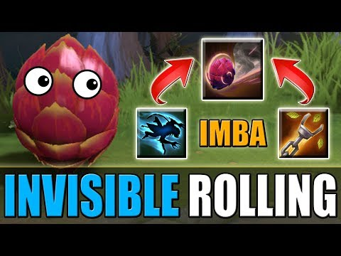 Invisible Rolling Thunder with Timber Chain [Funny IMBA] Dota 2 Ability Daraft