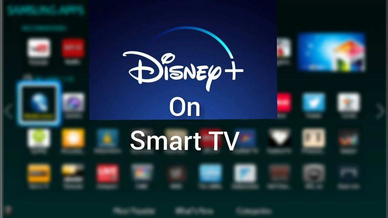 how to get disney plus on samsung smart tv - YouTube