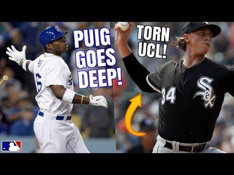 Yasiel Puig DESTROYS 463FT Home Run! Michael Kopech Tommy John? Judge Close to Return? MLB Recap
