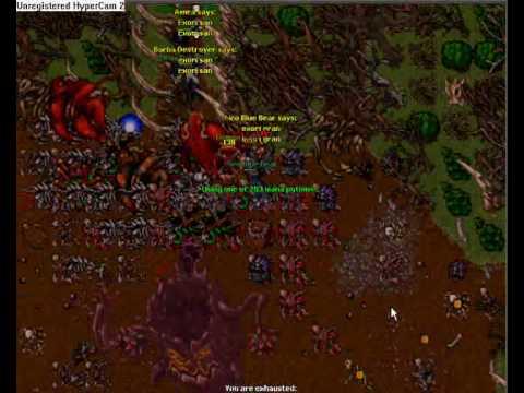 Tibia Demon Oak Quest Summer Update 2008
