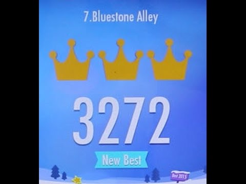 Piano Tiles 2 Bluestone Alley (Congfei Wei) World Record 3272 Piano Tiles 2 Song 7