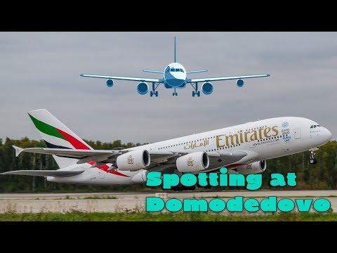 Летний споттинг в аэропорту Домодедово//Plane Spotting At Moscow Domodedovo