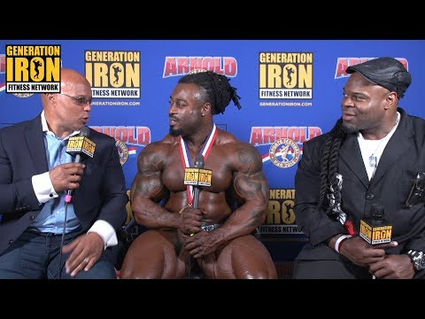 William Bonac Interview After His Arnold Classic 2018 Win | Generation Iron