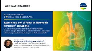 Experiencia con el Panel de Neumonía Filmarray® en España