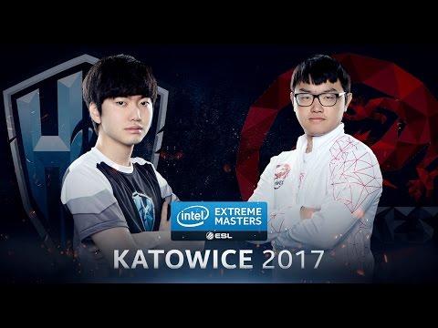 LoL - H2k-Gaming vs. Hong Kong Esports - Group A Decider Game 3 - IEM Katowice 2017 [1/2]
