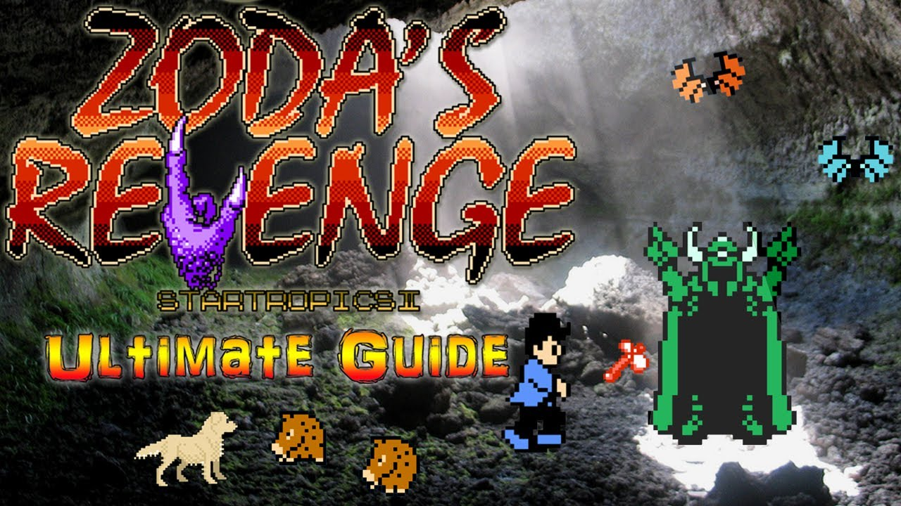 #ZodasRevenge Zoda's Revenge : StarTropics II NES - Ultimate Guide - ALL ITEMS, ALL BOSSES, 100%!