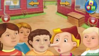 Truyện cổ tích tiếng anh cho bé : Cậu bé người gỗ Pinochio