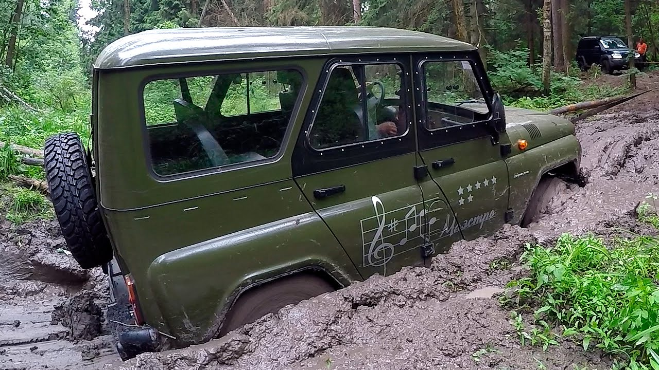 uaz 469 hunter offroad via atdrive youtube. Black Bedroom Furniture Sets. Home Design Ideas