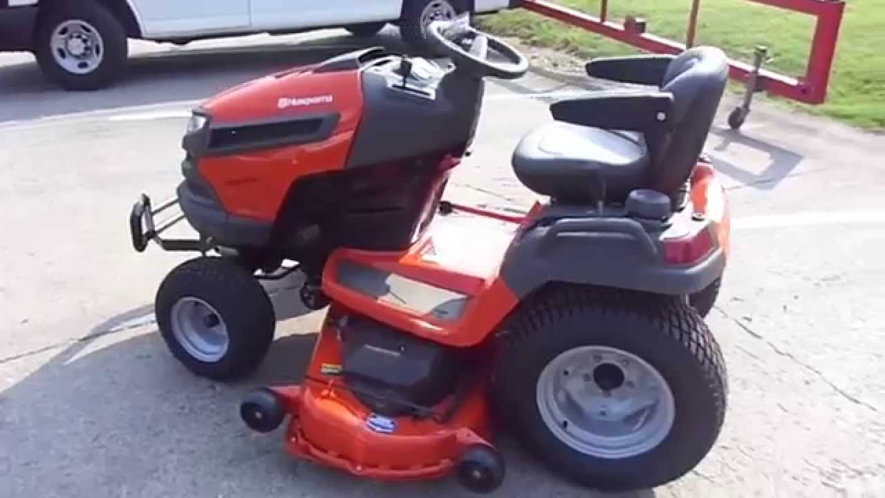 54 Husqvarna Gt54ls Lawn Tractor With 27 Hp Briggs