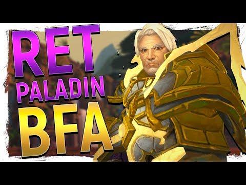 ...FIXED?! NEW Retribution Paladin Revamp   Battle for Azeroth Alpha - World of Warcraft