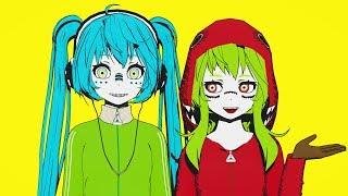 【MMD】 Matryoshka / マトリョシカ 【TDA GUMI / Miku】