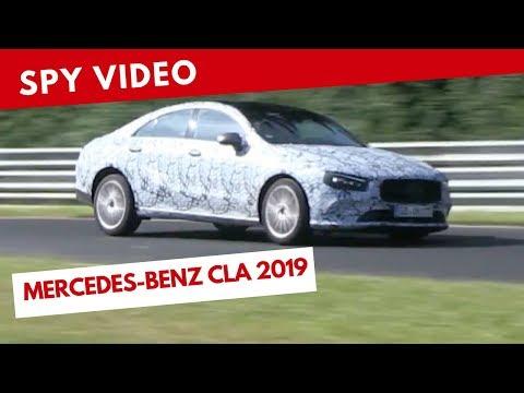 Mercedes CLA MY 2019 - Video spia (agosto 2018)