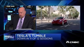 Cramer on Tesla: Long knives are out for Elon Musk thumbnail