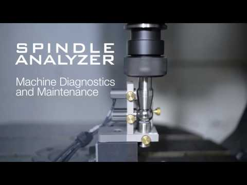 Machine Spindle Diagnostics and Maintenance - Spindle Analyzer by Automated Precision Inc.