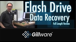 Monolithic USB Flash Drive Data Recovery