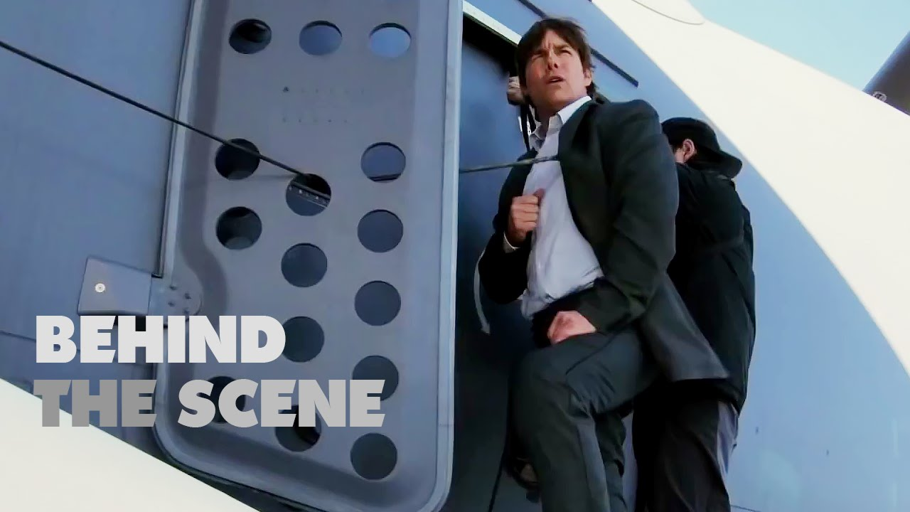 Mission Impossible Rogue Nation All Stunts Are Real Behind The - Behind the scenes of the insane plane stunt in mission impossible rogue nation