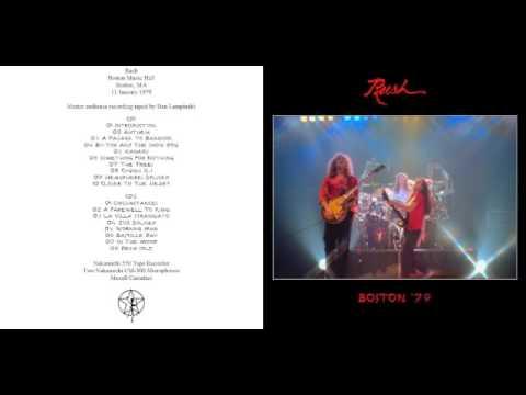 RUSH - Hemispheres Tour: Boston - 1979 (full)