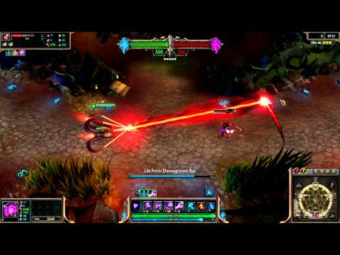 Full - Battlecast Vel'koz League of Legends Skin Spotlight