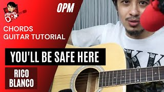 you-ll be safe here (guitar tutorial) w/ alternative chords - rivermaya - pareng don tutorials