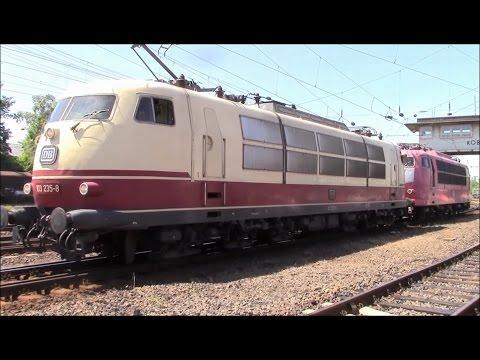 DB BR 103 - Legendäres Flagschiff der Deutschen Bahn