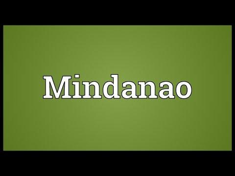 Mindanao Meaning