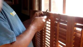 How To Repair A Shutter