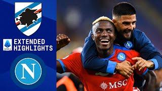 Sampdoria vs. Napoli: Extended Highlights   Serie A   CBS Sports Golazo