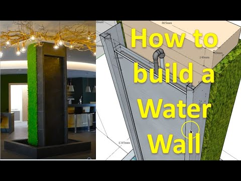 Build A Shiny Water Wall On Tiles