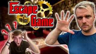 SOUS HYPNOSE, IL TAPE UN BACKFLIP DANS UN ESCAPE GAME !