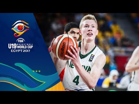 Lithuania v Egypt - Full Game - FIBA U19 Basketball World Cup 2017
