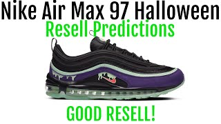 Nike Air Max 97 Halloween - Resell