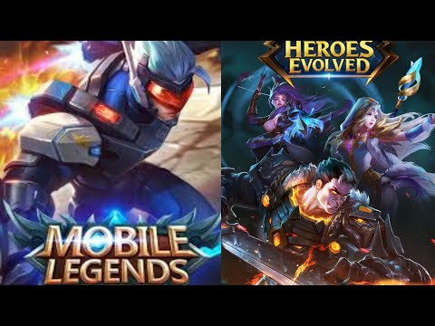 |Heroes Evolved|или|Mobile Legends|