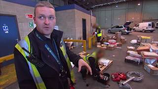 UK Customs Agents Search for Drugs! | Border Patrol!