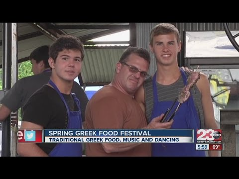 Spring Greek food festival brings traditional food, music and dancing
