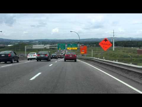 Henri IV Expressway (Autoroute 73 Exit 139) northbound