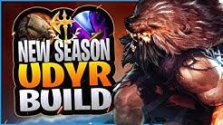UDYR'S TRUE SEASON 10 BUILD REVEALED!?! NEW UDYR JUNGLE BUILD IN SEASON 10! - League of Legends