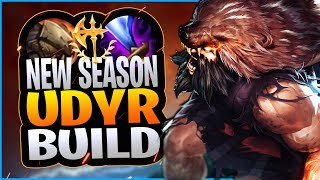 UDYR'S TRUE SEASON 10 BUILD REVEALED!?! NEW UDYR JUNGLE BUILD IN SEASON 10! - League of Legends