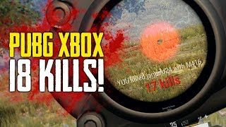 PUBG Xbox One X - 18 Kill Extermination! (Playerunknown's Battlegrounds)
